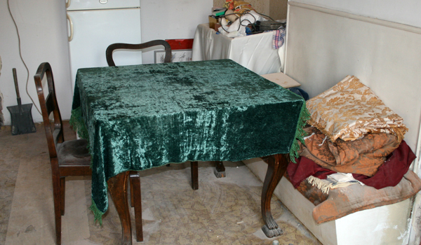 Изхвърляне на стара маса