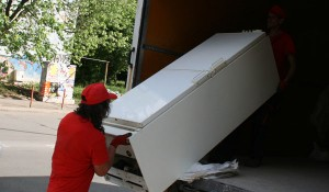 Изхвърляне на хладилник и пералня