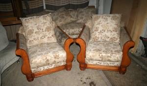 Изхвърляне и извозване на мека мебел
