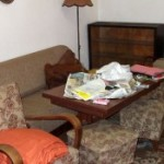 Събиране и изхвърляне на мебели
