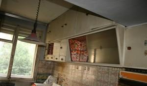 Изхвърляне на кухненски шкафове