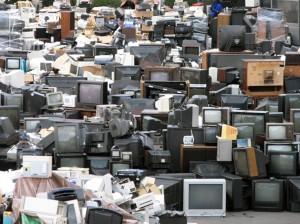 Изхвърляне на телевизор
