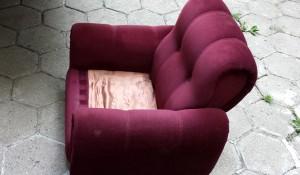 изхвърляне на фотьойли