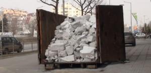 Контейнер за строителни отпадъци