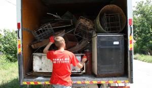Изнасяне и извозване на стари мебели
