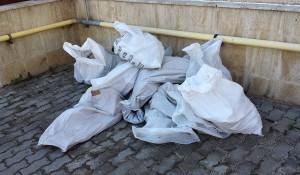 Изнася строителен отпадък