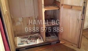 Изнасяне и изхвърляне на стари талашитени мебели