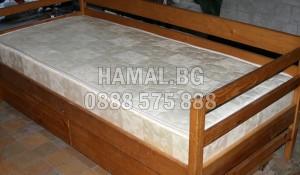 Безплатно изнасяне и изхвърляне на легло с матрак