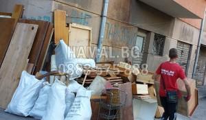 Събиране и извозване на строителни отпадъци
