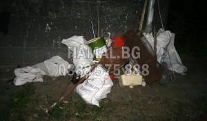 Извозване на метален отпадък и метални отпадъци