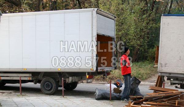 камион с хамали